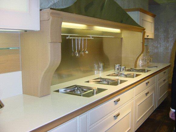 Cuisine - Plan de travail de cuisine classique, clair, en quartz -  5