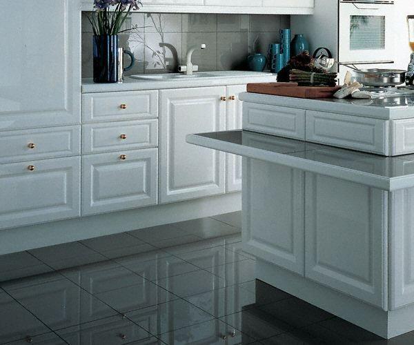 cuisine sol classique fonc en granit. Black Bedroom Furniture Sets. Home Design Ideas