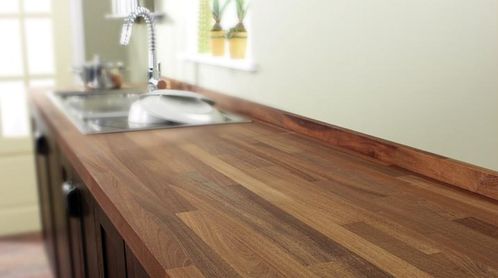 Formica Keuken Schilderen : Wooden Kitchen Work Top