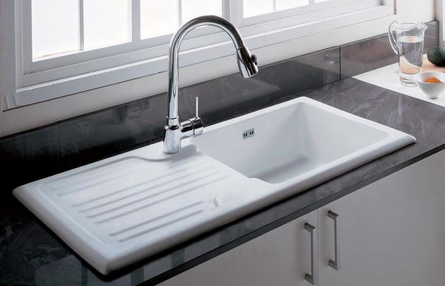 evier cuisine faience blanc pr l vement d 39 chantillons et une bonne id e de. Black Bedroom Furniture Sets. Home Design Ideas