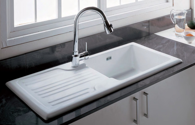 Stunning Evier De Cuisine Ceramique Blanc Gallery - Design Trends ...