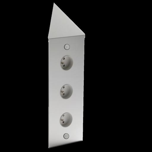 With meuble haut angle for Meuble tv transparent conforama