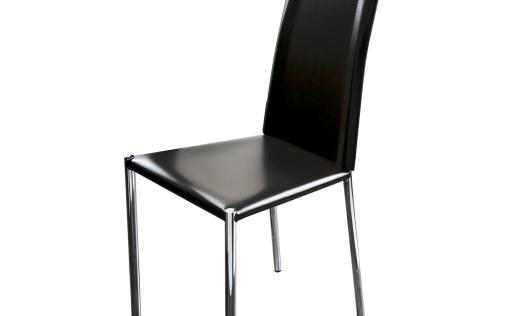 chaises cuir noir stunning chaise cuir maison du monde gracieux chaise cuir noir revision. Black Bedroom Furniture Sets. Home Design Ideas