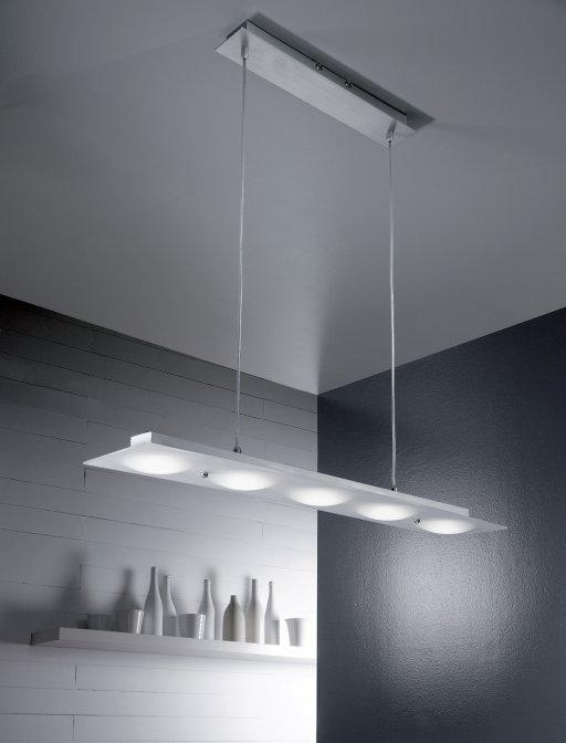 luminaireasuspensionledduneverreblancchrome