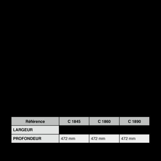 rangecouvertsenhetrenaturelpourtiroirblum500largeur600mm