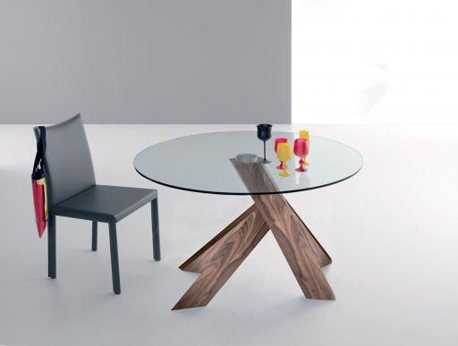 table ronde en verre trempe conceptions de maison blanzza