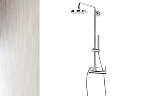 Colonne de douche avec mitigeur meilleures images d for Colonne inox cuisine