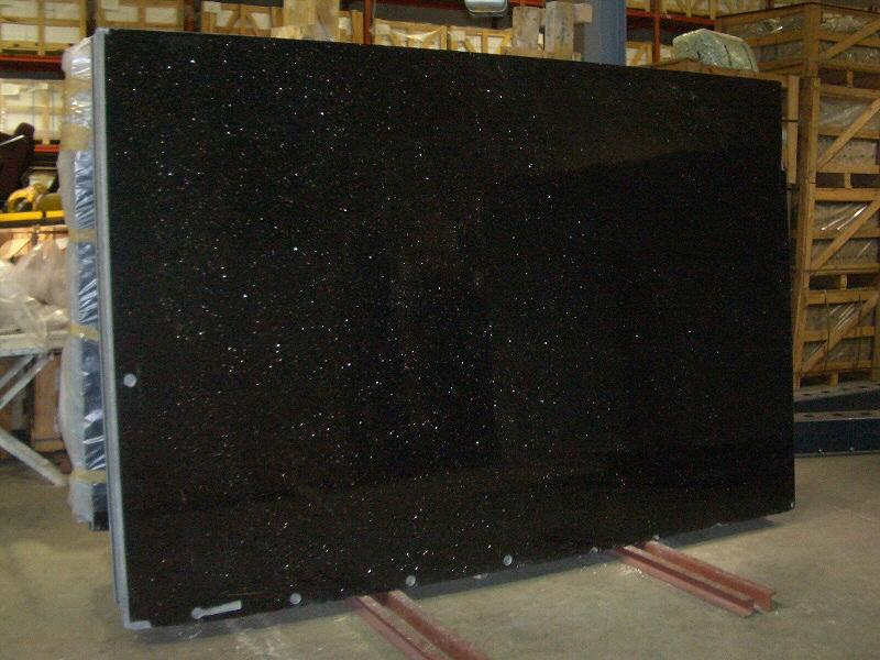 Plan de travail granit marbre quartz pierre de quartz corian inox verre bois - Plaque en verre pour cuisine ...