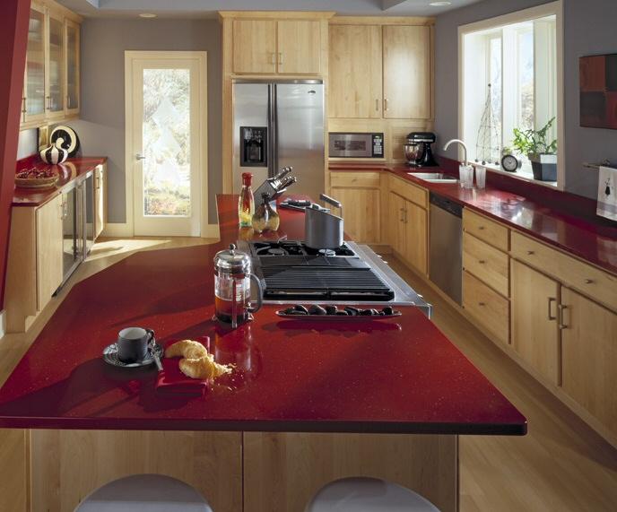 Plan de travail cuisine for Cuisine quartz